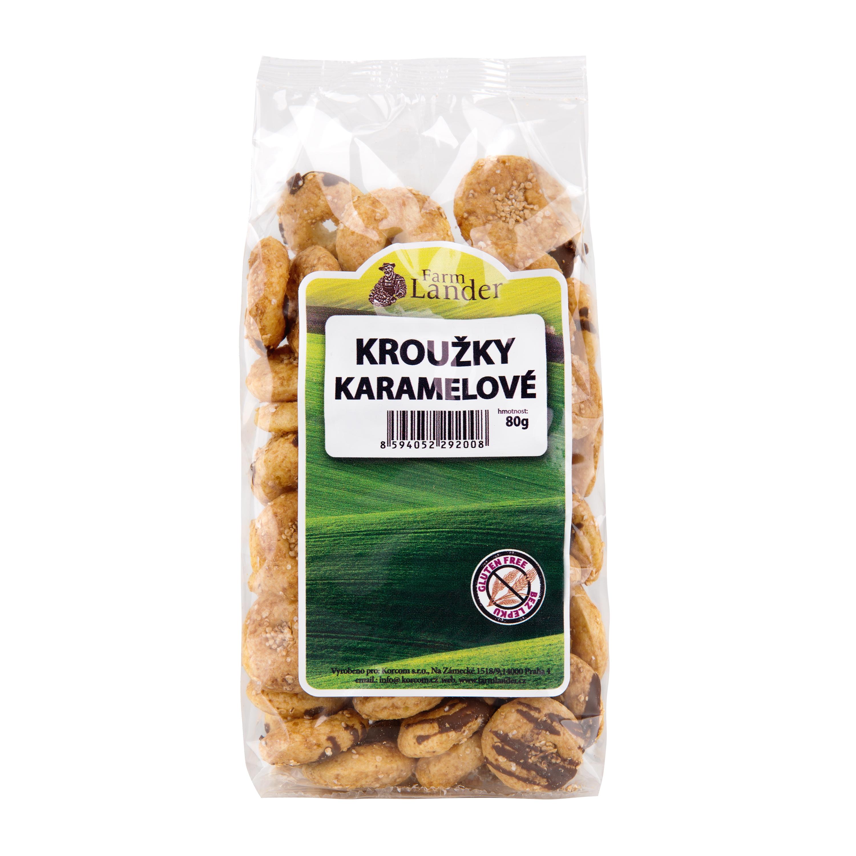 FarmLander karamelové kroužky